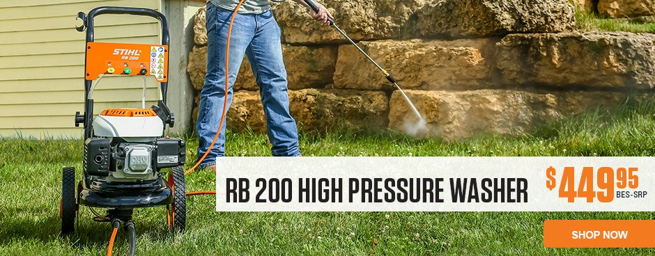 RB 200 High-Pressure Washer
